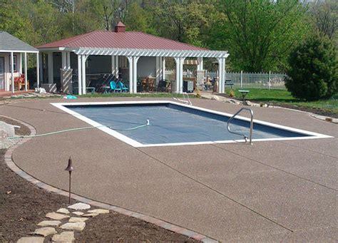pool sidewalk construction buchheit construction