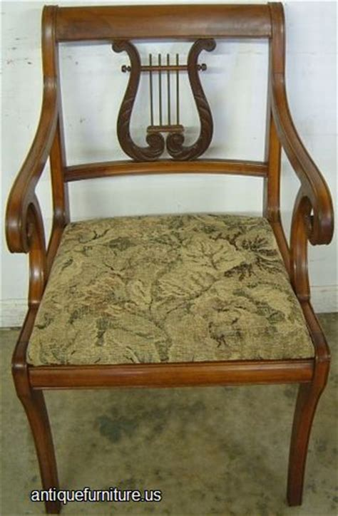 lyre back chairs antique antique mahogany lyre back dining chair at antique