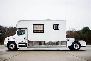 This Freightliner Toter Home Is Both Rv And Tow Vehicle