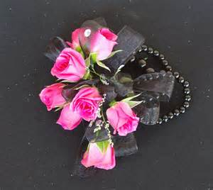 pink corsages for prom a country tallahassee florist prom wrist corsages