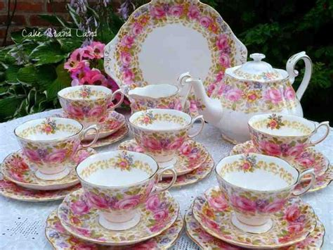 Vintage English Tea Sets And China Tea Sets For Sale