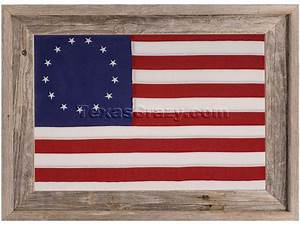 Buy Betsy Ross First American Flag Framed 2x3 3x5 Foot