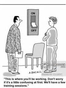 Job Training Funny Cartoons