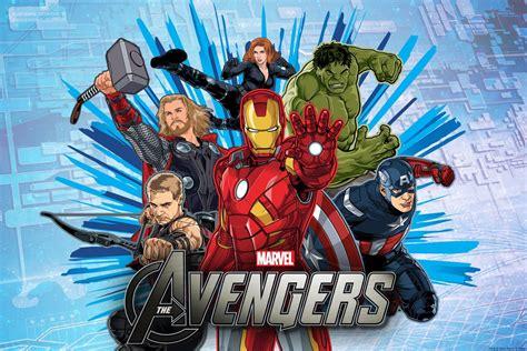 Avengers Cartoon Wallpapers