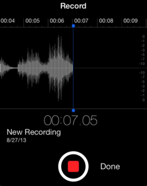 voice recorder iphone get to ios 7 voice memos macworld