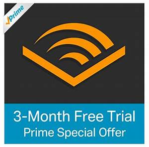Amazon: Prime Member get Audible 3-month FREE trial