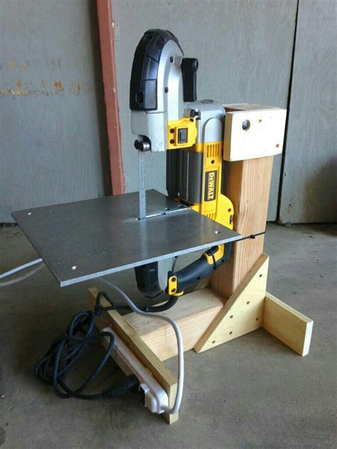 portable bandsaw stand woodworking tips woodworking