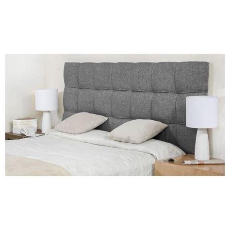 tete de lit chambre adulte finlandek tête de lit kynä adulte 160cm gris clair achat