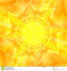 Yellow Sun Abstract Background Stock Photos - Image: 4751943