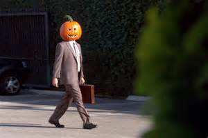Dwight Schrute Pumpkin Head need help on your halloween costume let tv be your guide