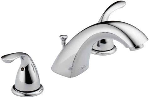 delta widespread bath faucet