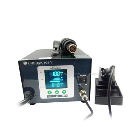 580w gordak 952v soldering station air heat gun 2 in 1 smd bga rework station in soldering