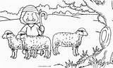 Shepherd Coloring Pages Sheep German Printable Face Cool2bkids Dog Cute Getdrawings sketch template