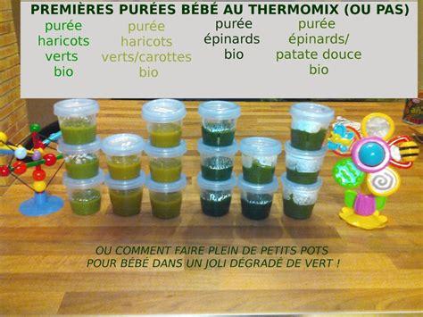 livre cuisine thermomix purée bébé d 39 épinards à partir de 4 6 mois au thermomix ou pas flagrants delices by