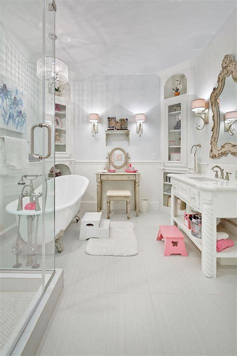 12 luxueuses salles de bain au style shabby chic bricobistro