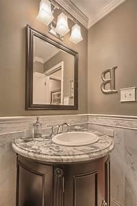 round bathroom vanity powder room contemporary with white
