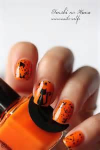 Fall Halloween Nail Art Designs