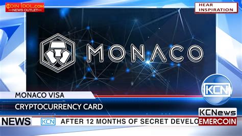 The new visa card can be funded with ether or bitcoin but other supported cryptocurrencies will be announced in june. Cryptocurrency @monaco card VISA enters the market - YouTube