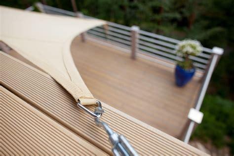 befestigung sonnensegel hauswand sonnensegel in 5 schritten zur optimalen befestigung