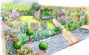 idee amenagement jardin deco jardin gamm vert With amenager son jardin en pente 2 idee amenagement jardin deco jardin gamm vert