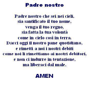 testo padre nostro tracce di infinito la splendida preghiera quot padre nostro quot