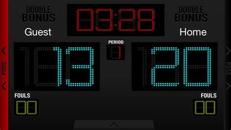 basketball scoreboard  android apk