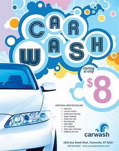 car wash flyer template wallpaper hot girls wallpaper With car wash poster template free