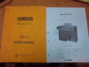 Yamaha Electone Organ Shop Service Manual