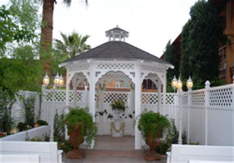 garden gazebo wedding wedding venues las vegas wedding