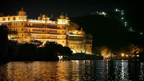 hidef hdv city palace  udaipur  night