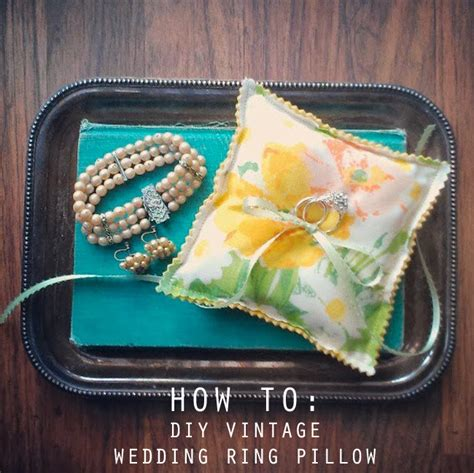 how to sew a custom wedding ring pillow guest tutorial by nostalgia resources 187 little vegas