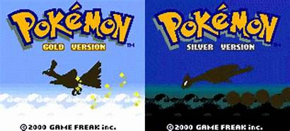 Pokemon Gold Silver Crystal Games Gifs Versions