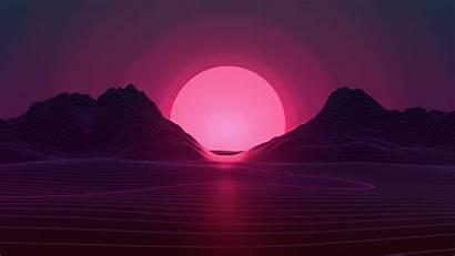 Neon Sunset Resolution 4k Wallpapers
