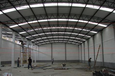 fabricacion  montaje de estructura  naves