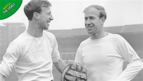 Manchester United and England legend Sir Bobby Charlton ...