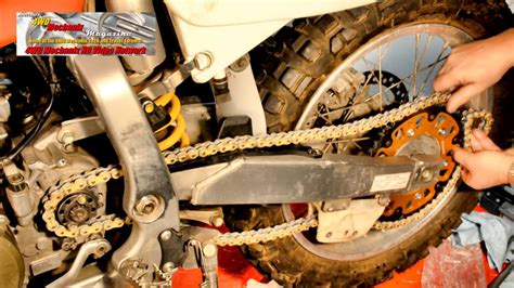 Dirt Motorcycle Final Drive Chain And Sprockets