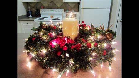 christmas table centerpieces to make diy centerpiece