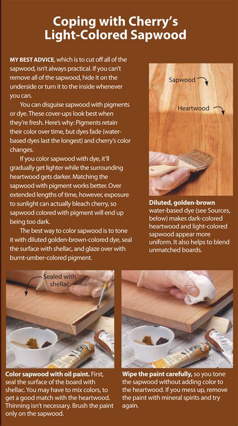 tips  finishing cherry popular woodworking magazine