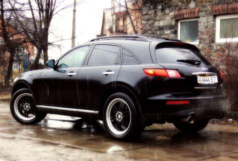 "Black FX35 with DeModa DF1 20"" wheels - Infiniti FX Forum"
