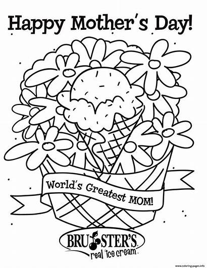 Coloring Mom Pages Mothers Greatest Worlds Printable