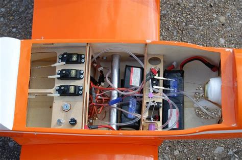 Nitro Servo Wiring by 421 Engine Sky Trainer 46 71in Nitro Electric Arf