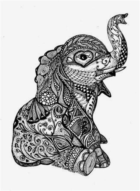 elephant with details | Elephant tattoos, Tattoos