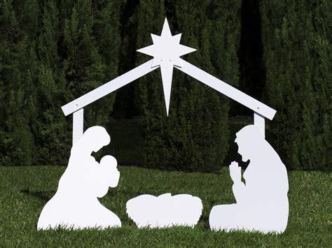 holy family outdoor nativity store