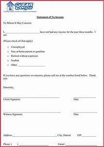 Proof Of Income Letter For Babysitter Proof Of Income Letter 20 Samples Formats In Pdf Word