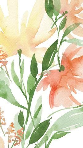 Find & download free graphic resources for watercolor flowers. Spring Floral Watercolor - Phone Background Wallpaper in 2020 | Phone background wallpaper ...