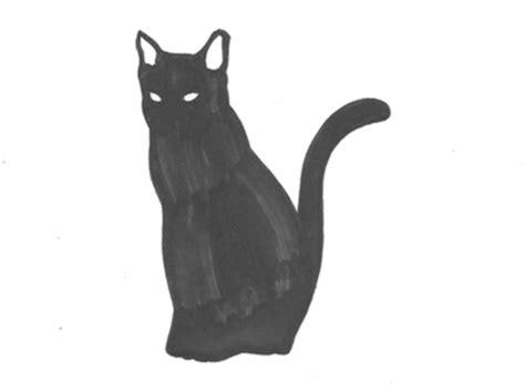 black cat drawing gif wifflegif
