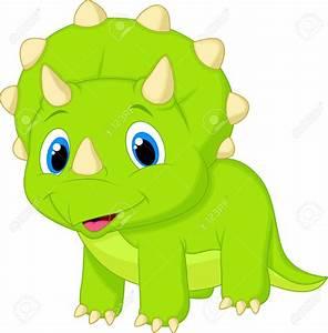 Cute Dinosaur Clipart #131666