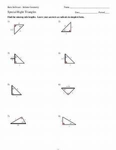 Special Right Triangle Review