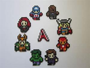 Lil39 Avengers By 8 BitBeadsStudio On DeviantArt