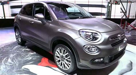 New 20182019 Fiat 500 ×  A Fashionable Crossover Cars